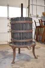 Large Antique Grape Wine Press, Philadelphia Pa