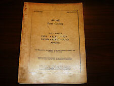 1945 F4U-1 Parts Catalog World War II Book Flight Manual - Original