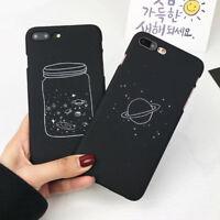 Stars Sky Slim Matte Hard Back Case Cover For iPhone 6s 7 7 8 Plus