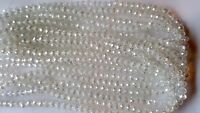 Joblot of 10 strings (720 beads) 8mm AB clear Crystal beads new wholesale
