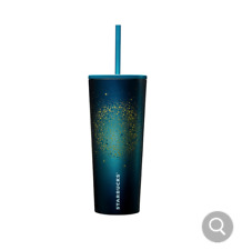 Starbucks Korea 2020 Summer night SS galaxy pale cold cup 473ml+ TRACK