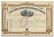New listing Flint and Pere Marquette Railroad Company Stock Certificate