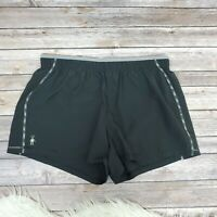 Smartwool Phd Black Exercise Short Womens Size Large Athletic