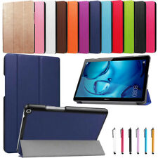 """For Huawei MediaPad M3 T3 7"""" 8"""" 8.4"""" 10"""" Tablet Slim Leather Case Stand Cover"""
