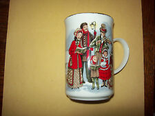 ST.GEORGE FINE BONE CHINA CHRISTMAS VILLAGE SCENES CUP-MUG FROM ENGLAND RARE