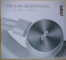 HEADPHONES/ON-EAR/WIRELESS/WIRED/BLUETOOTH/RECHARGEABLE/MP3/FM RADIO, MIS200.