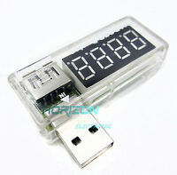 2PCS USB Charger Doctor Voltage Current Meter Mobile Tester Power Detector new