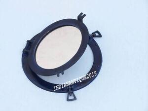"""9"""" Porthole Mirror  Porthole ~Ship Porthole ~Nautical Decor"""