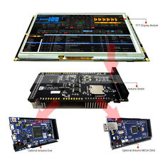 """8"""" inch TFT LCD Resistive Touch SSD1963 Shield for Arduino Due,MEGA 2560 Library"""