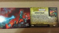 2013 SDCC EXCLUSIVE TOPPS MARS ATTACKS INVASION PROMO CARD # 0 10 CARD LOT SALE