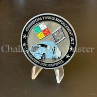 NORTH CAROLINA STATE HIGHWAY PATROL Commercial Vehicle Unit CHALLENGE COIN