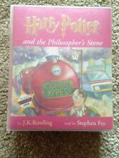 Harry Potter Cassette Audio Book Philosopher's Stone Ready By Stephen Fry
