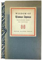 WISDOM OF THOMAS AQUINAS + CONFESSIONS SAINT AUGUSTINE Peter Pauper, Illustrated