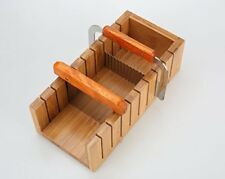 Wood Soap Mold Loaf Cutter Mold with 1pcs Wavy & Straight Planer Cutting Tool