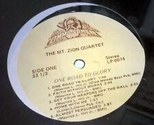 The MT ZION QUARTET One Road To Glory SEALED vinyl LP Gospel 1983 LP-0074
