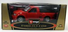 Burago 1/21 Scale Diecast 3305 Ford Svt F-150 Lightning 1999 Pick-up Red