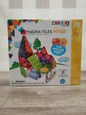 New MAGNA-TILES House 28 Piece Set Mixed Colors Sets are Compatible ✅