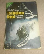 The Ruthless Breed / Son Of A Desperado Ace Double Western Book Clement Hardin