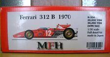 Rare Factory HIRO 1/20 Ferrari 312B 1970 full detail model kit