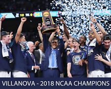 VILLANOVA - 2018 NCAA Basketball Champs, 8x10 Color Photo