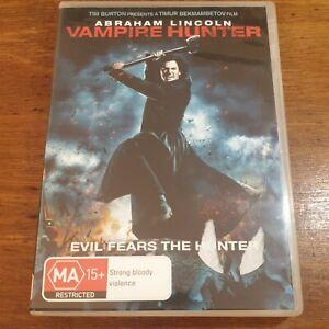 Abraham Lincoln Vampire Hunter DVD R4 Like New! FREE POST