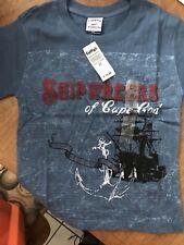 Boys Size 3 T Short Sleeve Shirt Cape Cod