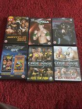 UFC WWE Cage Rage DVD Bundle Wrestling John Cena Extreme