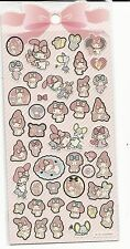 Sanrio My Melody Gold Foil Outlined Stickers