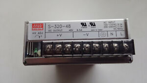 MeanWell 48V 6.5A power supply S-320-48