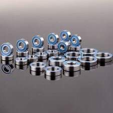 25PCS Ball Bearing RC Car Traxxas E MAXX Brushless KIT Metric Blue Rubber Sealed