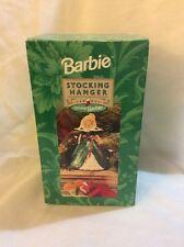 Holiday Barbie Stocking Hanger