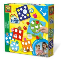SES CREATIVE Children's My First Sticking Shapes Set, Unisex, 1 to 4 Years
