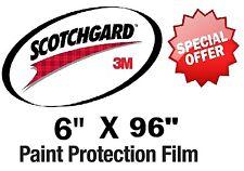 "Bulk Roll Film 6"" x 96""  Genuine 3M Scotchgard Paint Protection Clear Bra"