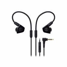 Audio-Technica ATH-LS50is Black Dual Driver Earphones AUTHORIZED DEALER New 2017