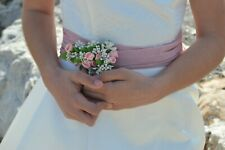 Belle Broche Fleurs Broche Epingle pour Marié Mariée Fiançailles Communion