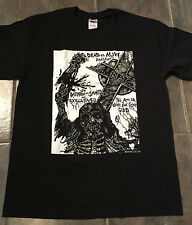 Misfits Vintage Flyer T-Shirt,NEW Size XL, Punk,Samhain,Danzig,Mad Mark Rude