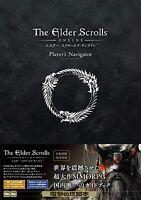 New The Elder Scrolls ONLINE Player's Navigator Guide book From JAPAN