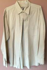 Resistol Gear Men's Tan Long Sleeve Button Down Shirt XL. EUC