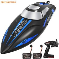"""Rc Fast Boats Radio Racing 13.8"""" Remote Control Model Hull gift Batteries x2 Fs"""