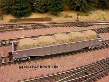 Hay Brothers 50' Tarp Covered Load #3 (Colors Vary) - fits flatcars & gondolas