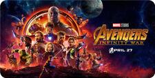 Avengers: Infinity War Movie 2018 XLarge Extra Large Mouse Pad Matt 60X30cm B766