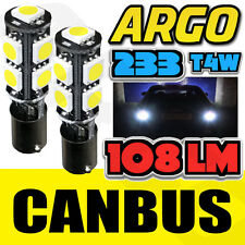 TRANSIT MK7 06-12 WHITE CANBUS LED ROOF MARKER LIGHT 9 SMD BULBS 233 T4W HALOGEN
