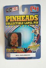 Pinheads Wrestler Bill Goldberg Pin Lapel Tie Tack First Edition Wcw Wrestling