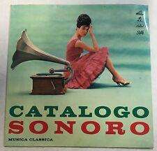 """56676 45 giri - 7"""" - Catalogo sonoro musica classica - Elisir d'amore B. Gigli"""