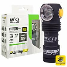 ArmyTek Elf C1 1050 Lumen MicroUSB Rechargeable Headlamp w/ 900mAh 18350 Battery