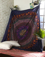 Urban Outfitters Mandala Tapestry Wall Hanging Indian Hippie Twin Bedding Cover