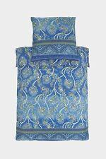 Bassetti Mako Satin Bedding Bramante V3 Blue 135x200 Cotton 1.