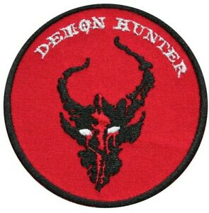 Demon Hunters Airsoft Cosplay Embroidered Sew-on/ Iron-on / Hook & Loop Patch