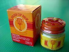 12g. Golden Cup Balm Thai Ointment Herbal Massage Pain Headache vertigo relief