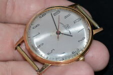 100% ORIGINAL  VINTAGE Russian Soviet WATCH LUCH (POLJOT DE LUXE) ultra-slim old